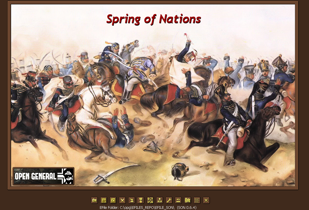 Start Screen (Efile Spring of Nations)